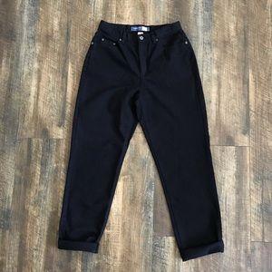 Vintage Liz Claiborne Black High Waisted Mom Jeans